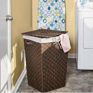 Honey Can Do Decorative Woven Laundry Hamper