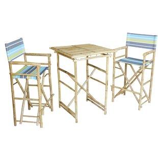 Bastien 3 Piece Pub Table Set ..