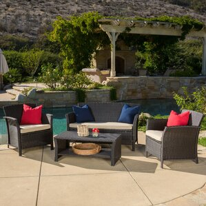 Brassard 4 Piece Seating Group With Cushion