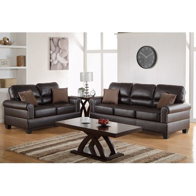 Save To Idea Board. Black Boyster 2 Piece Living Room Set. Espresso ... Part 87