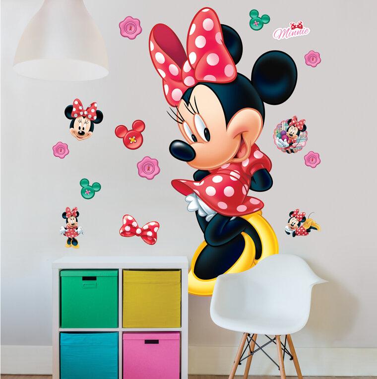 Wandtattoo Disney Minnie Maus