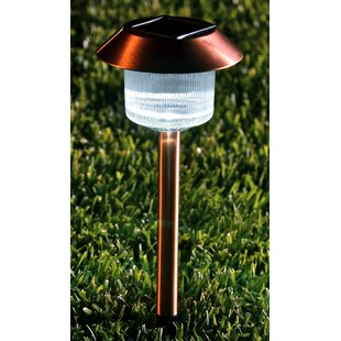 Buzzell Copper Pathway Light Set Of 12 (Set Of 12) By Freeport Park