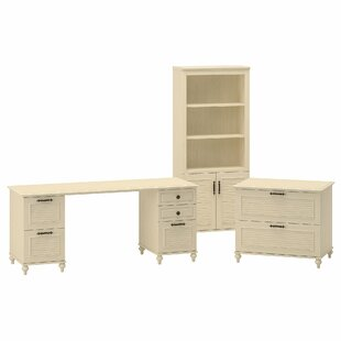 Volcano Dusk Standard 3 Piece Desk Office Suite by Kathy Ireland Office Bush Today Sale Only