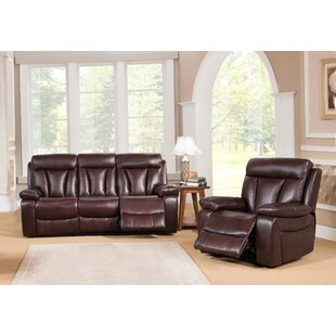 Lenny Reclining 2 Piece Living Room Set by Red Barrel Studio