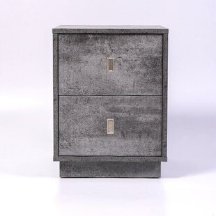 Marsh Bedside 1 Drawer Nightstand by Orren Ellis