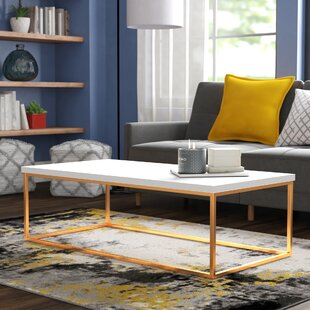 Travis Heights Coffee Table by Wade Logan 2019 Coupon