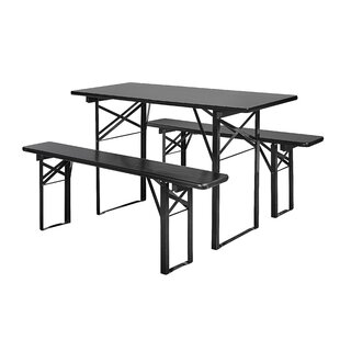 Dining Set With 2 Benches By Nordal