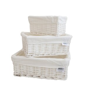 3 Piece Wicker Laundry Set By House Of Hampton