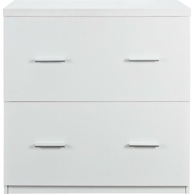 Jayda 2 Drawer Lateral File Cabinet Finish: White by Comm Office