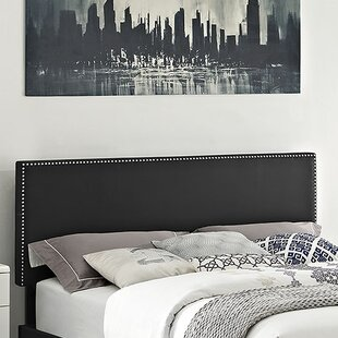 Preiss Upholstered Panel Headboard By Wrought Studio