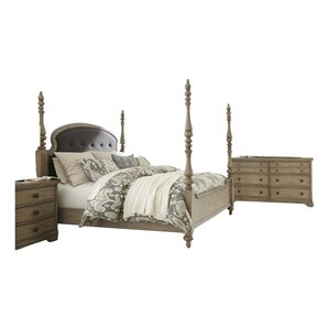 Paredes Four Poster Configurable Bedroom Set