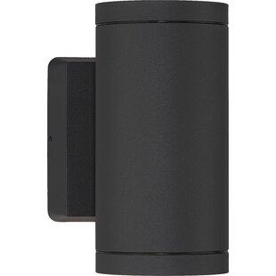 Cylinder 2-Light Outdoor Sconce