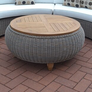 Outdoor Teak Ottoman Wayfair