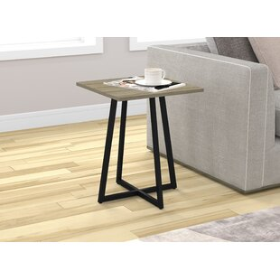 Strong Metal End Table by Union Rustic