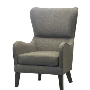 Demi Wingback Chair by Alcott Hill
