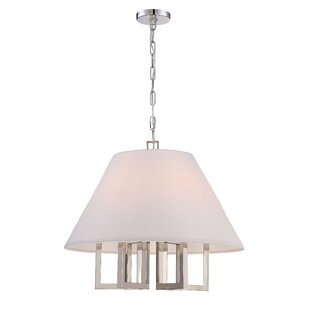 Brayden Studio Longley 6-Light Cone Pendant