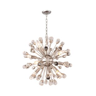 Everly Quinn Kinzel 12-Light Chandelier
