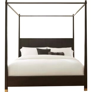 Palmer Solid Wood Low Profile Canopy Bed