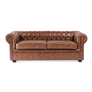 Leather Sofas & Armchairs, Chesterfield Sofas | Wayfair.co.uk