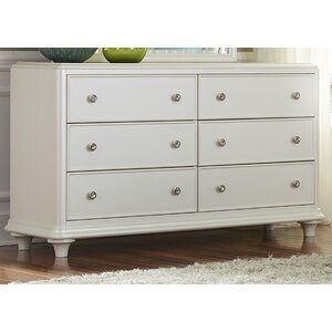 Cynthia 6 Drawer Double Dresser