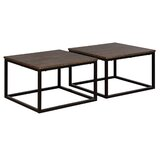 Hensley 2 Piece Square Coffee Table Set (Set of 2) by Gracie Oaks
