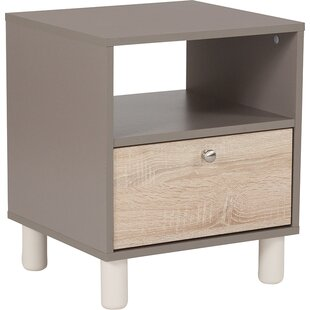 Gallego End Table with Storage by Wrought Studio