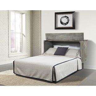 Wankowski Ash Queen Storage Murphy Bed with Mattress