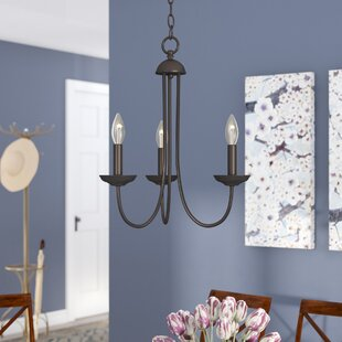 Charlton Home Bordelon 3-Light Candle Style Chandelier