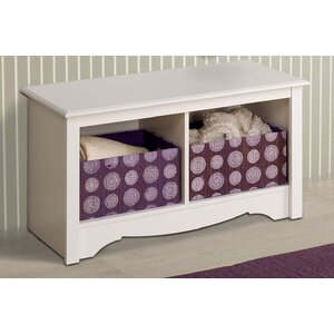 Sybil Cubbie Storage Bench