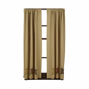 Lilian Curtain Panels (Set of 2) by August Grove