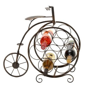 Casa Cortes 7 Bottle Tabletop Wine Rack b..