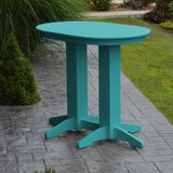 Nettie Plastic/Resin Bar Table