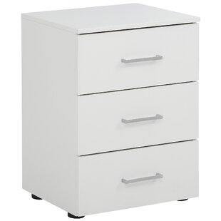 McCormick 3 Drawer Bedside Table By 17 Stories