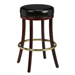 Amoroso Traditional Beechwood Backless Bar Stool