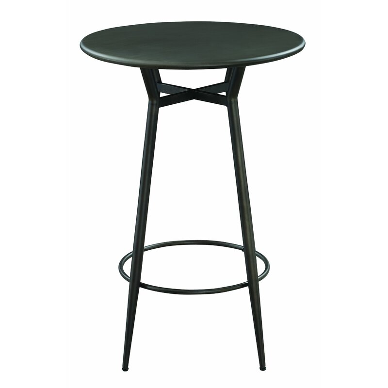 White Cane Outdoor Furniture, 17 Stories Critchfield Bar Height Dining Table Wayfair