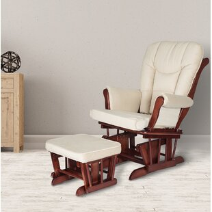 Sleigh Glider and Ottoman by AFG Baby Furniture