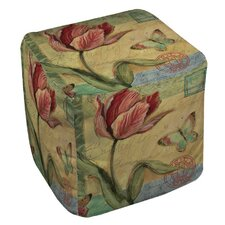 Loretta Tulip Ottoman by August Grove