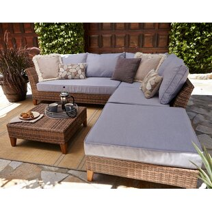 Felton 5 Piece Sectional Set with Cushions