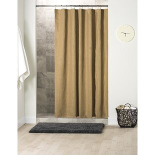 Stein Jute Shower Curtain By Bay Isle Home