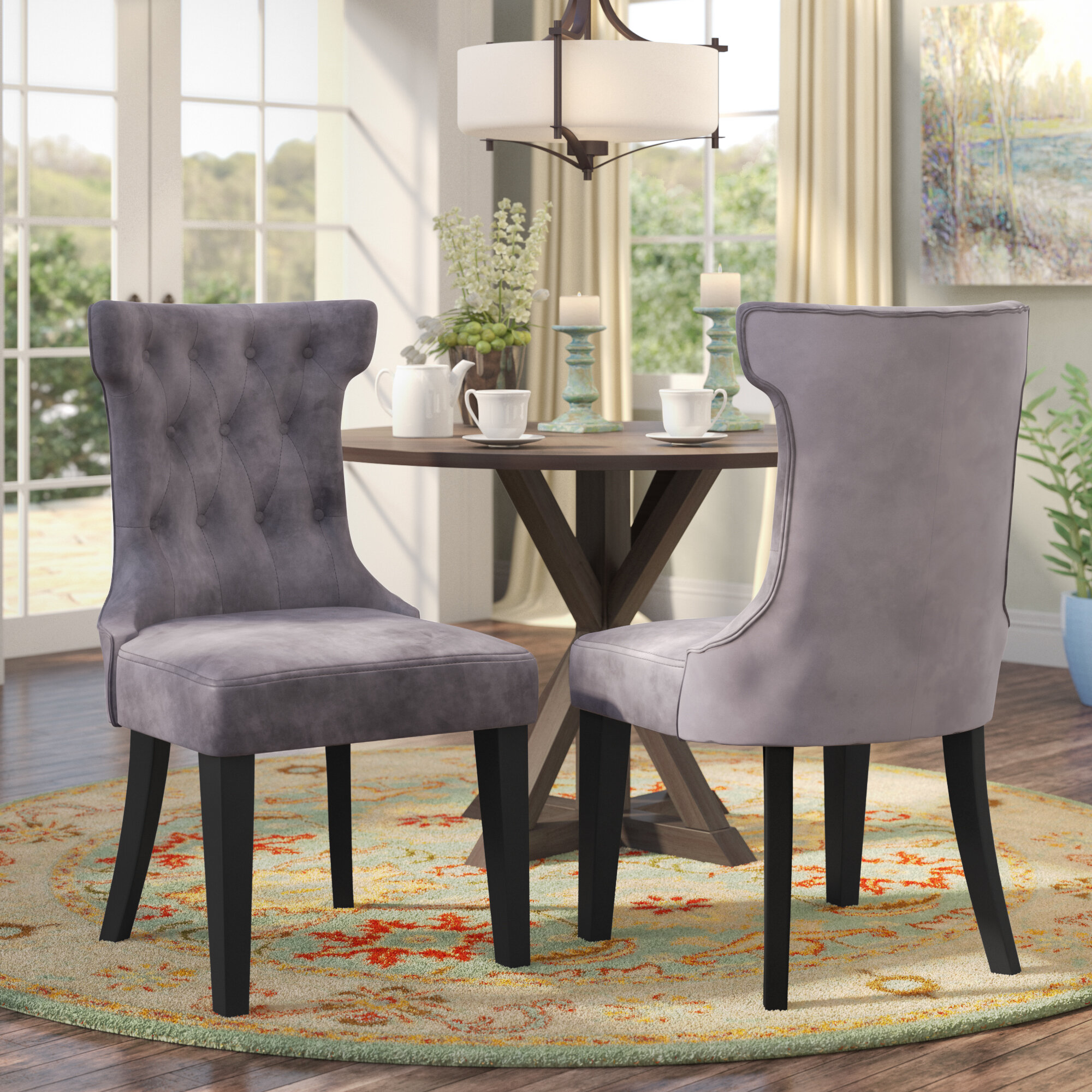 Scituate Tufted Upholstered Side Chair