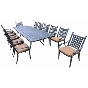 Darby Home Co Arness 16 Piece Dining Set and Lounge Set
