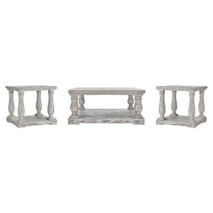 Best Reviews Airelle 3 Piece Coffee Table Set By Lark Manor