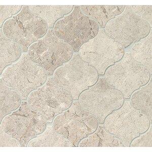 Marble Mosaic Tile in Sebastian Grey