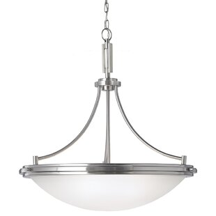Ebern Designs Isabelyn 4-Light Bowl Pendant