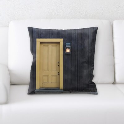 Blue Rain Throw Pillow Williston Forge