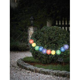Brass Work 10 Light Lantern String Lights Image