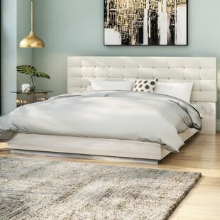 Matt Upholstered Platform Bed