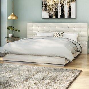 Matt Upholstered Platform Bed