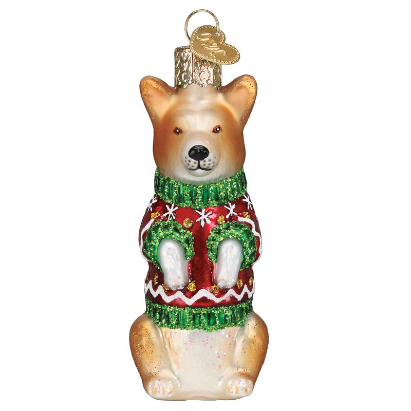 Old World Christmas Corgi Hanging Figurine Ornament Wayfair