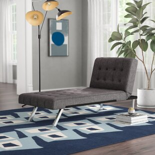 Compare prices Littrell Chaise Lounge by Wade Logan Reviews (2019) & Buyer's Guide